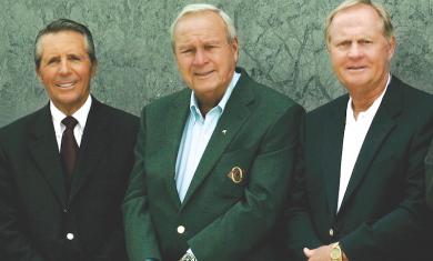 The Big Three: Gary Player, Arnold Palmer e Jack Nicklaus