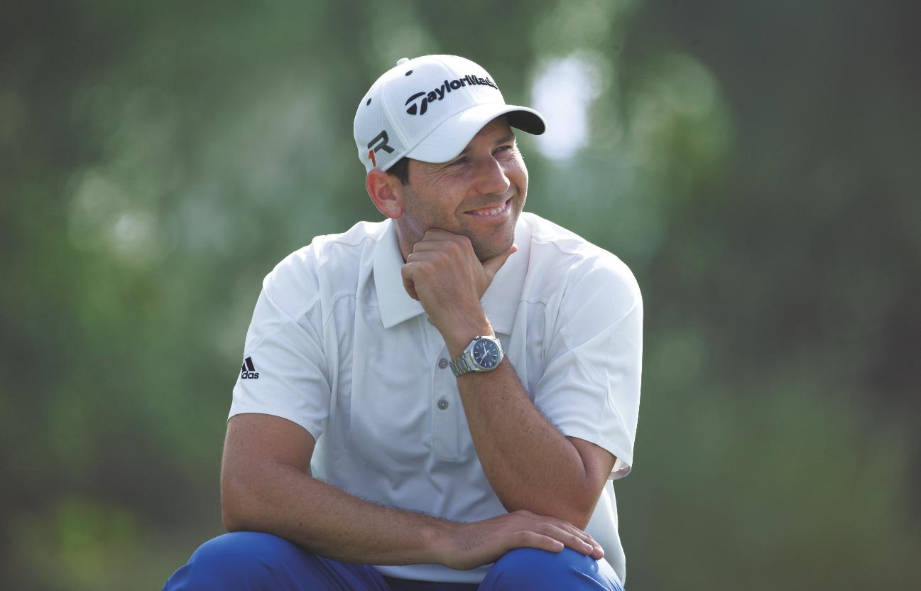 Sergio Garcia nasceu em Castellon, na Espanha, em 9 de janeiro de 1980, sob o signo de Capricórnio. Tem 35 anos e mora em Crans Montana, na Suíça. Joga habitualmente tanto no Tour Europeu, em que venceu 11 vezes, quanto no circuito americano, em que triunfou em 2008 no The Players Championship. No total, conquistou 27 títulos em todo o mundo. Foi o número 2 do ranking mundial no final de 2008, depois que venceu o HSBC Champions Tournament. Nunca conquistou um major, embora tenha chegado perto quatro vezes, duas no PGA Championship (1999 e 2008) e duas no The Open (2007 e 2014), quando ficou em segundo lugar. Atualmente é o número 11 do mundo. Grande torcedor do Real Madrid, também é um ótimo jogador de futebol
