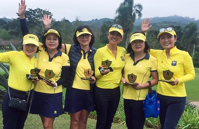 A equipe do Guarapiranga Golf & Country Club aproveitou a vantagem de jogar em casa para fazer o segundo melhor resultado da rodada final e vencer, de virada, a Taça Escudo 2018