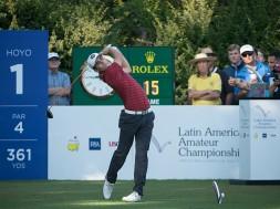 Melhor amador do ranking mundial em suas primeiras tacadas de sucesso no PGA Tour e novo Embaixador da Rolex