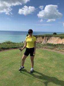 Graciela Zermiani: nutricionista e golfista (Foto: Zeca Resendes)